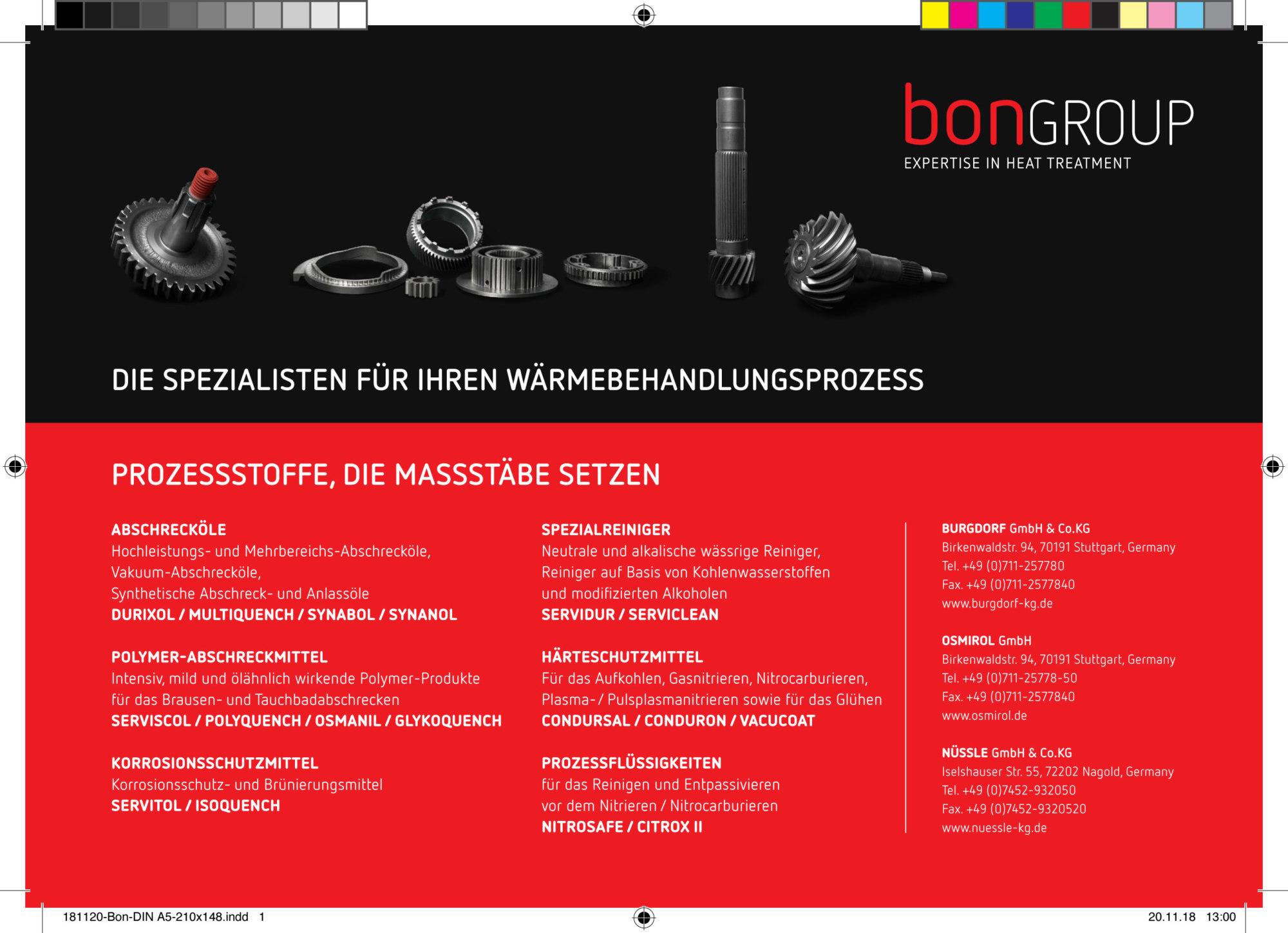 Inserat/Anzeige Burgdorf